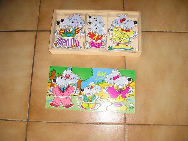 Puzzle en bois de Suzy la souris et sa famille 10 Septèmes-les-Vallons (13)