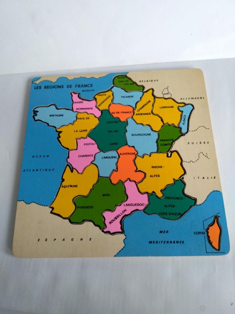 Puzzle en bois 10 Calais (62)