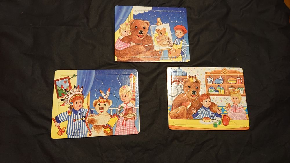 3 Puzzle bonne nuit les petits 45 Carnoules (83)