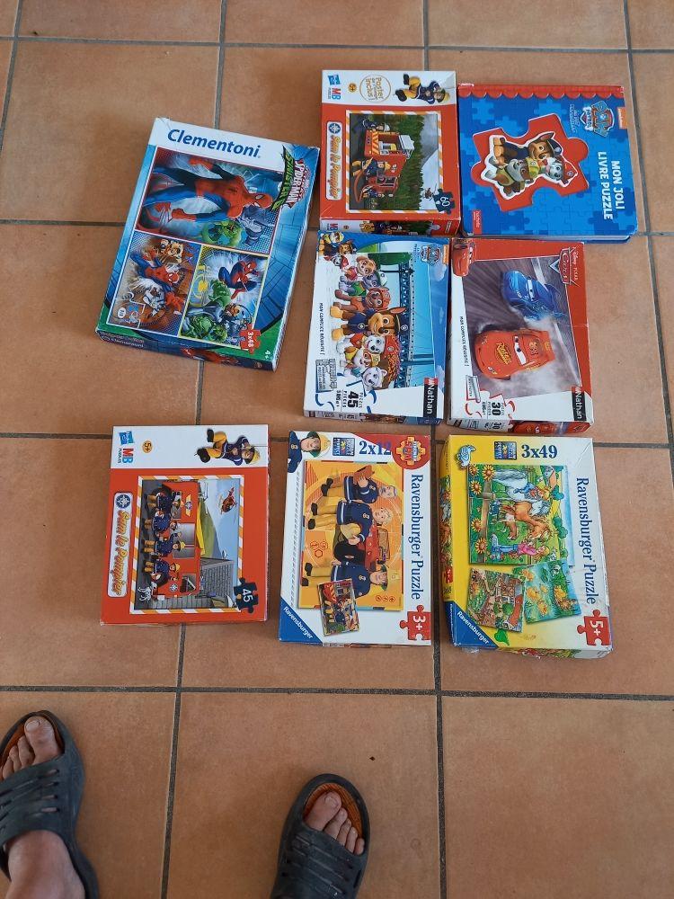 puzzle complet bon état 15 La Varenne (49)