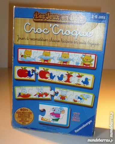 Puzzle Croc-Croque 4 Paris 9 (75)