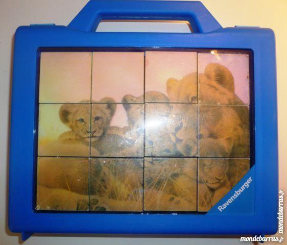 Puzzle cubes sujet lions 4 Paris 9 (75)