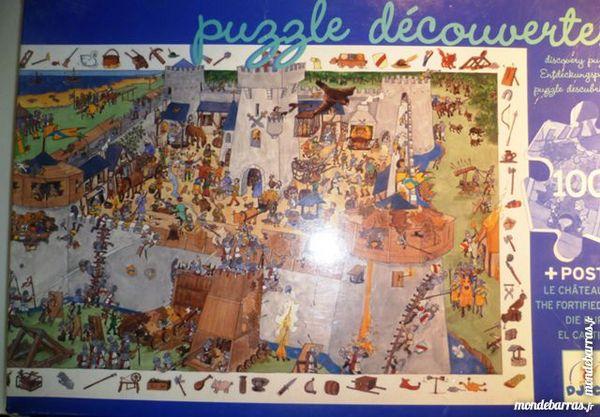 Puzzle découverte châteaux 7 Paris 9 (75)