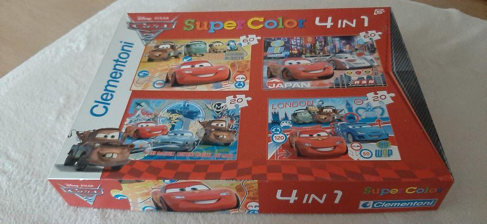 Puzzle Disney Cars 4 en 1 5 Évry (91)
