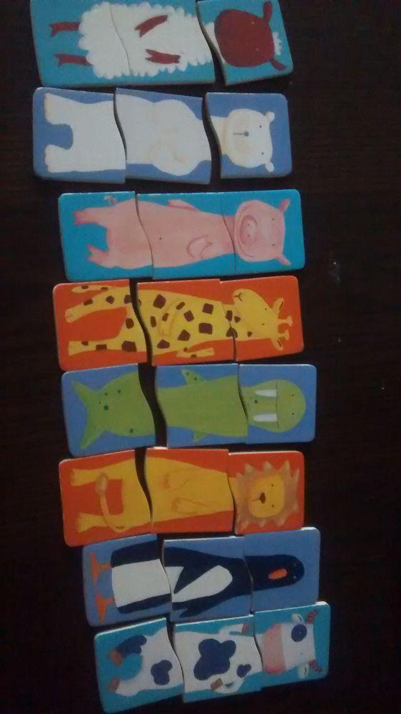 Puzzle drôles d'animaux de djeco 4 Saint-Jean-Pla-de-Corts (66)