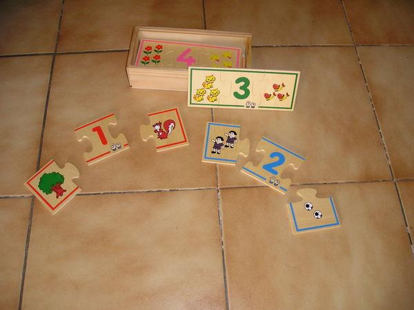 Puzzle éducatif en bois Jeux / jouets