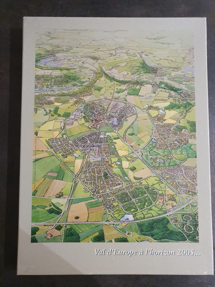 Puzzle Val d'Europe 35 pièces - Disney 5 Sulniac (56)