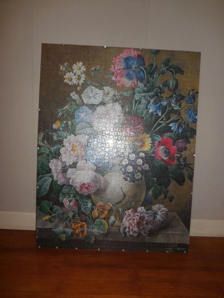Puzzle fleurs dans cadre 99/76 cm  40 Caluire-et-Cuire (69)