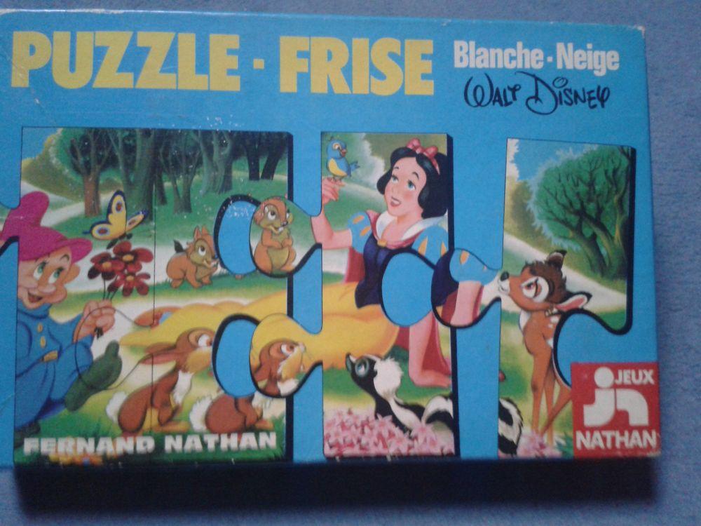 Puzzle frise Blanche Neige (très grandes pièces) 3 Noailles (60)