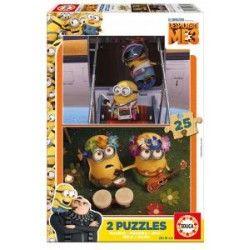 puzzle minion 25 pièces en bois 16 Lestrem (62)
