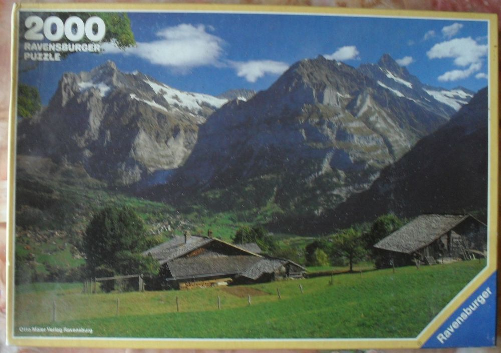 PUZZLE NEUF 2000 pièces sur le thème Paysage des Alpes 22 Montreuil (93)