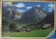 PUZZLE NEUF 2000 pièces sur le thème Paysage des Alpes Jeux / jouets