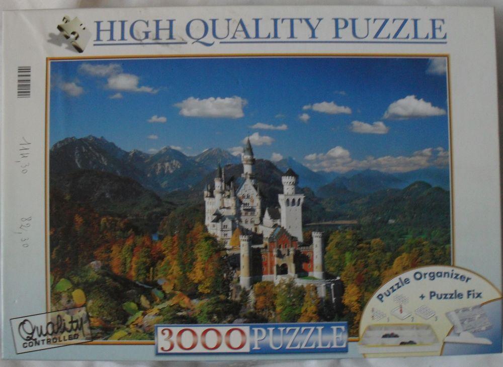 PUZZLE NEUF de 3 000 pièces sur le thème Château 30 Montreuil (93)
