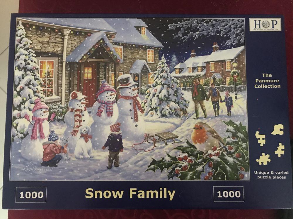 Puzzle de Noël neuf de 1000 pièces  12 Grande-Synthe (59)