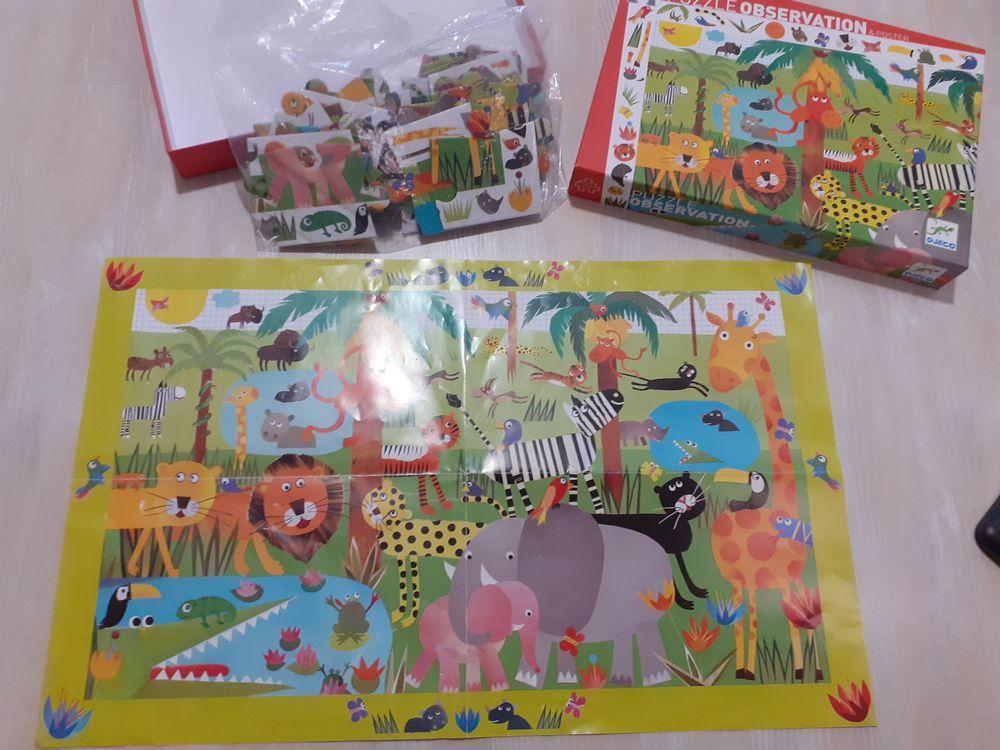 Puzzle Observation & Poster  La jungle  35 pièces de Djeco 7 La Ferté-Alais (91)