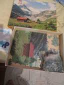 puzzle paysage de montage 1000 pièces 0 Mérignies (59)
