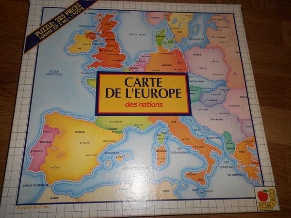 Puzzle 285 pièces sur l'Europe Jeux / jouets