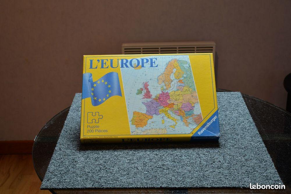 Puzzle 200 pièces l europe 9 Mérignies (59)