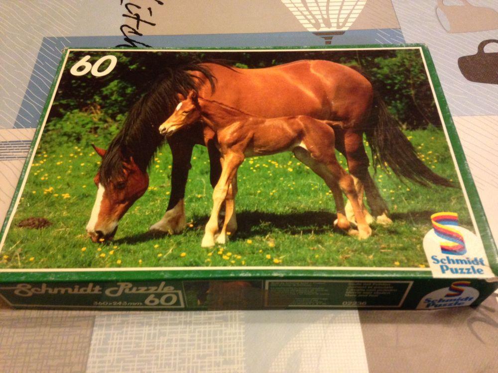 Puzzle 60 pièces La Jument et son Poulain 4 Strasbourg (67)