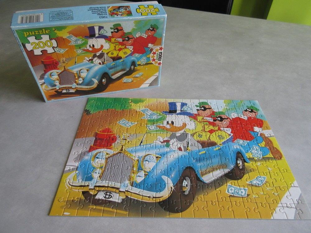 Puzzle 200 pièces Oncle Picsou 10 Jury (57)