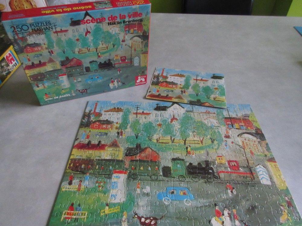 Puzzle 250 pièces Scène de la ville 10 Jury (57)