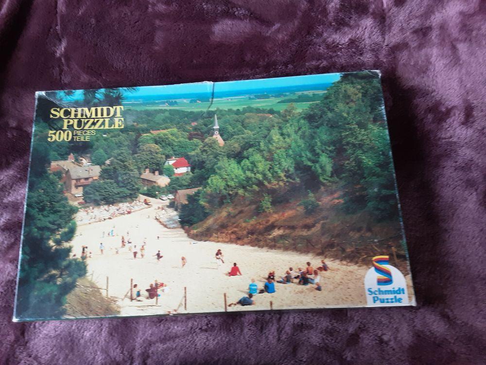 puzzle 500 pièces  5 Mauves (07)