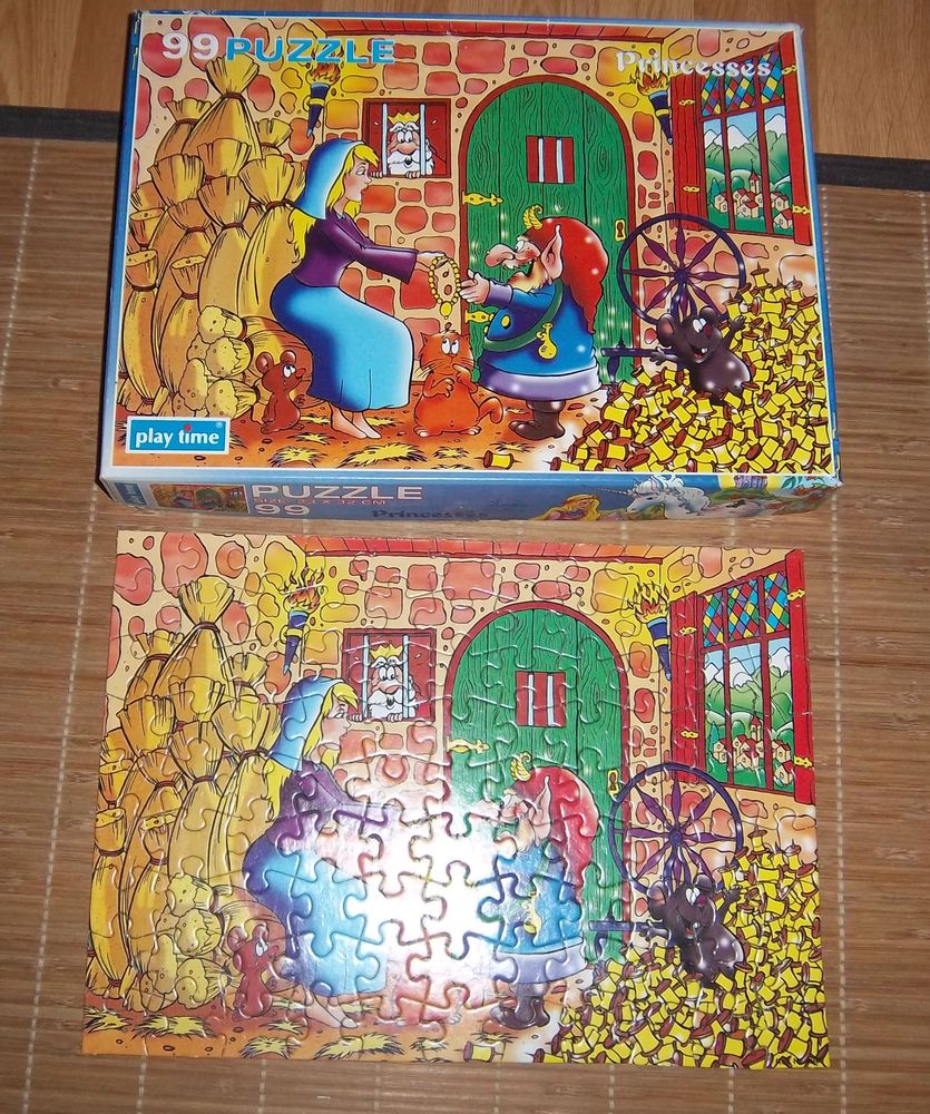 Puzzle Play Time 99 pièces 4 Colombier-Fontaine (25)