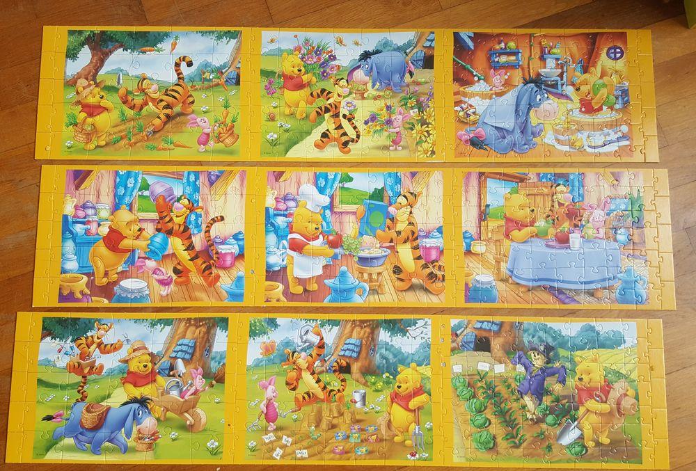 Puzzle progressif pour enfant 6 Chilly-Mazarin (91)