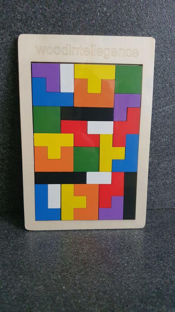 Jeu puzzle 3D Tangram 10 Sartrouville (78)