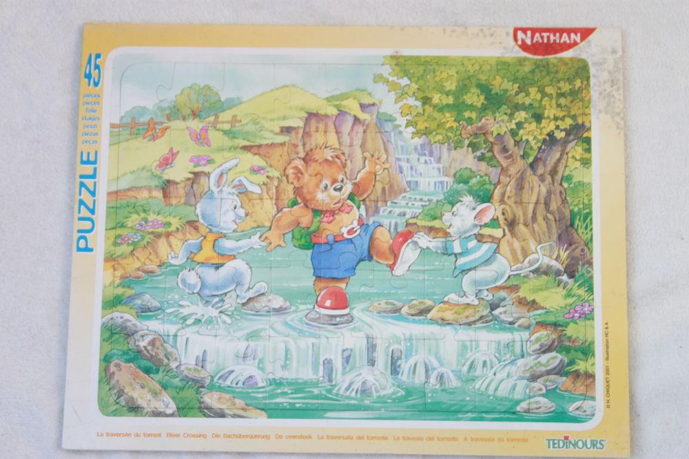 Puzzle Traversée du torrent  1 Montigny-Lencoup (77)