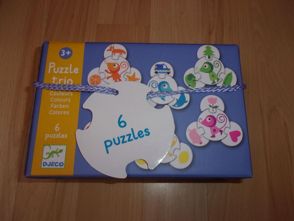 Puzzle Trio 6 puzzles de Djeco (Neuf) 7 Ardoix (07)