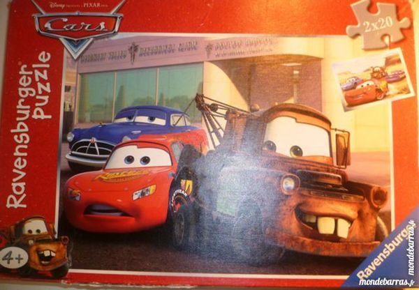 Puzzle voitures 4 Paris 9 (75)