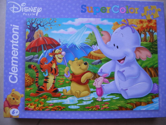 Puzzle Winnie et ses amis 3 Rignovelle (70)