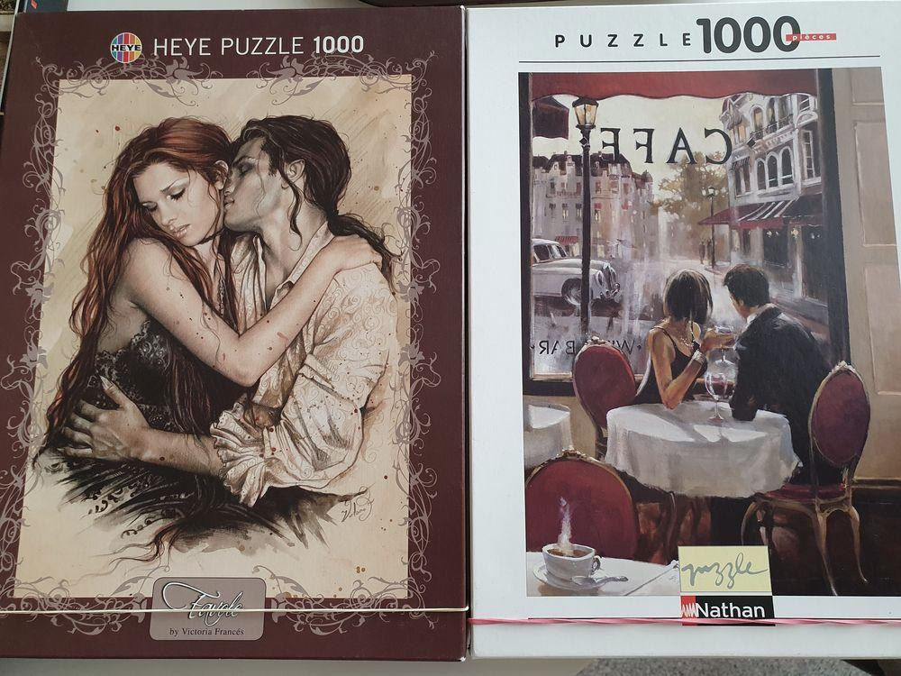 4  Puzzles 500 et 1000 pièces 34 Douai (59)