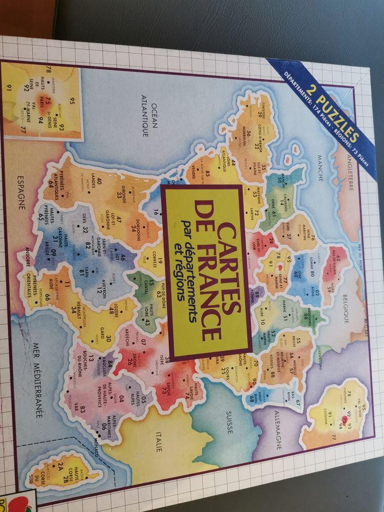 Puzzles cartes de France  3 Roissy-en-Brie (77)
