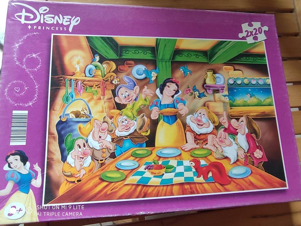 Puzzles Disney Blanche Neige et les sept nains 20 Montsoult (95)