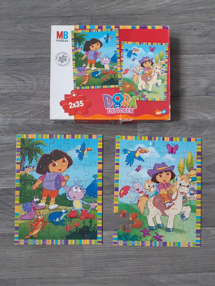 2 puzzles Dora l'exploratrice 2x35 pièces Jeux / jouets