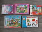 Lot de 6 puzzles enfant 19 Arreau (65)
