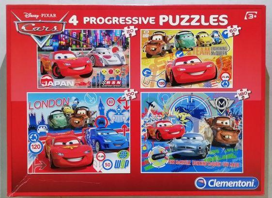 Puzzles évolutifs Disney Cars Jeux / jouets