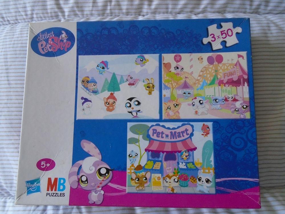 3 Puzzles Littlest Petshop 3 X 50 Pièces 4 Rivery (80)