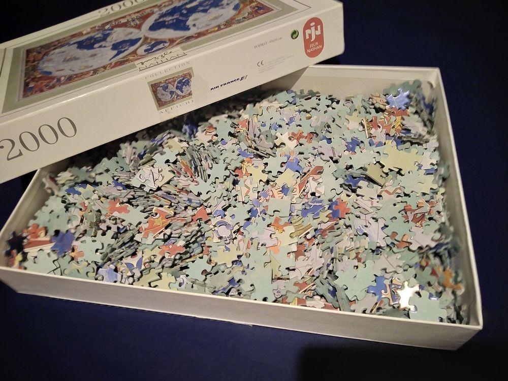 Puzzles Nathan 2000 pièces 10 La Seyne-sur-Mer (83)