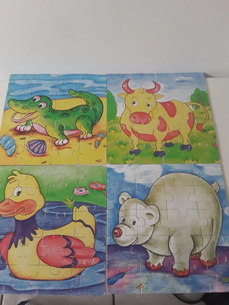 4 puzzles 20 pièces  3 Faulx (54)