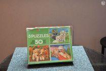 3 puzzles représentant chiens et chats 0 Mérignies (59)