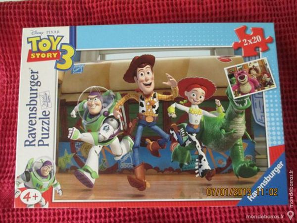 2 Puzzles TOY STORY 3 20 pièces chacun 5 Alfortville (94)
