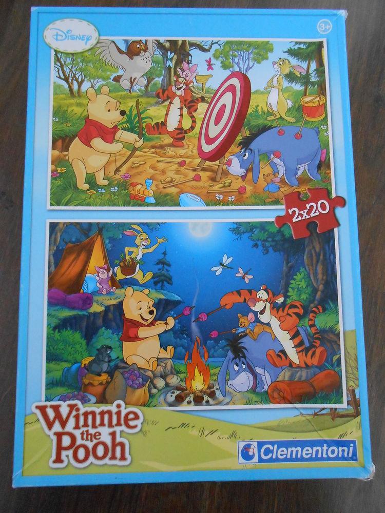 Lot de 2 puzzles Winnie l'Ourson 20 pièces dès 3 ans 3 Aurillac (15)