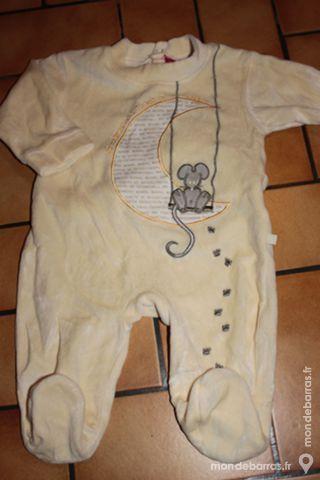 Pyjama babygro 3 mois jaune 7 Wervicq-Sud (59)