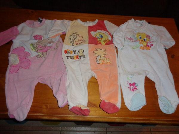 acb615291868f Lot de 3 pyjama bébé fille taille 6 mois à 8 euros 8 Lauraët (32