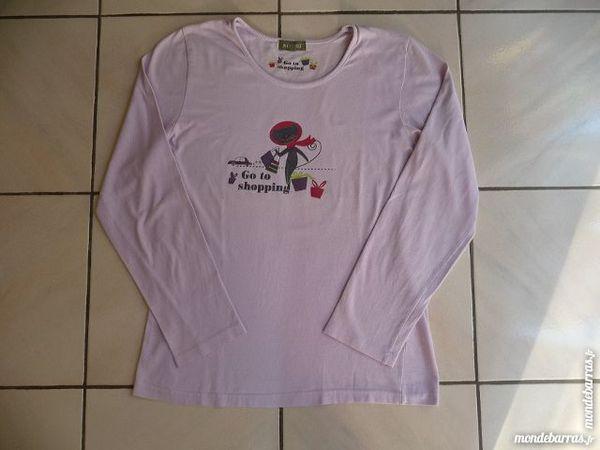 Pyjama lilas T.38-40 - NEUF Vêtements