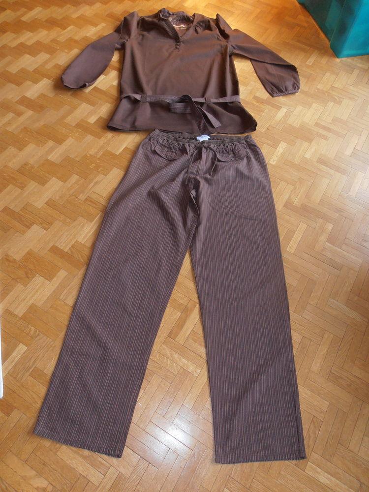 Pyjama marron Etam (80) 20 Tours (37)