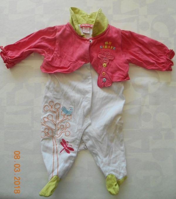 Pyjama 1 mois Orchestra Vêtements enfants